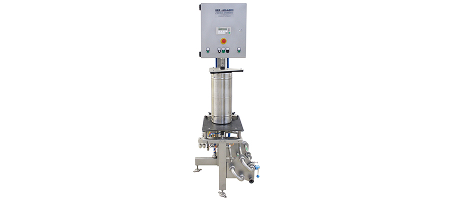 Semi automatic Keg-Filling machine (only for Stainless Steel Keg)