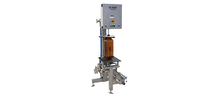 Semi automatic Keg-Filling machine (for all Stainless Steel Keg and PolyKEG, Dolium, Petainer but NO KeyKeg)